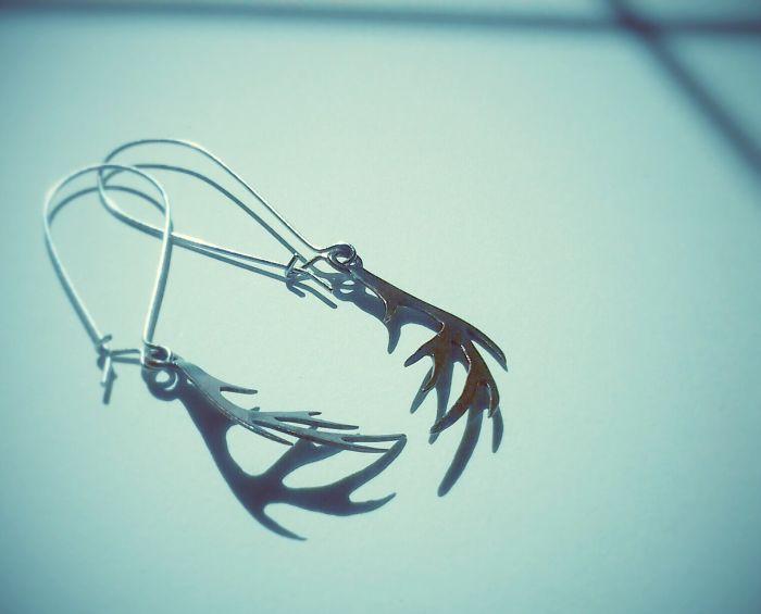 Antler Earrings - Gemma Goodwin