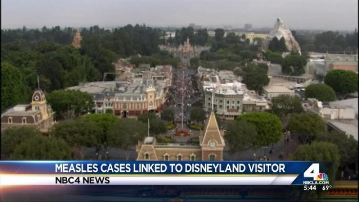 51 Cases Of Measles Linked To Disneyland