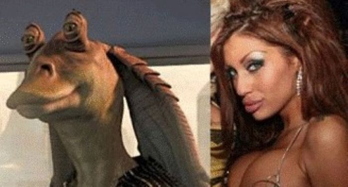 Miss Silicone Bulgaria Djuliana Gani Look Like Jar Jar Binks From The Star Wars Saga