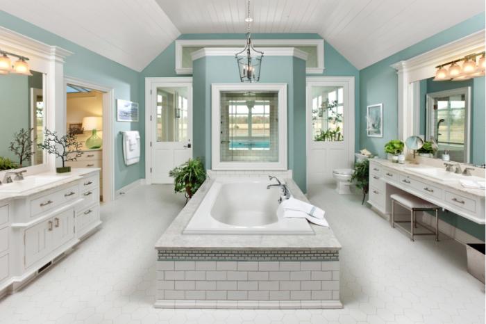 Superb Color Scheme For A Bathroom