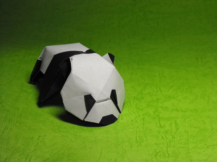 Origami Baby Panda – By Jacky Chan