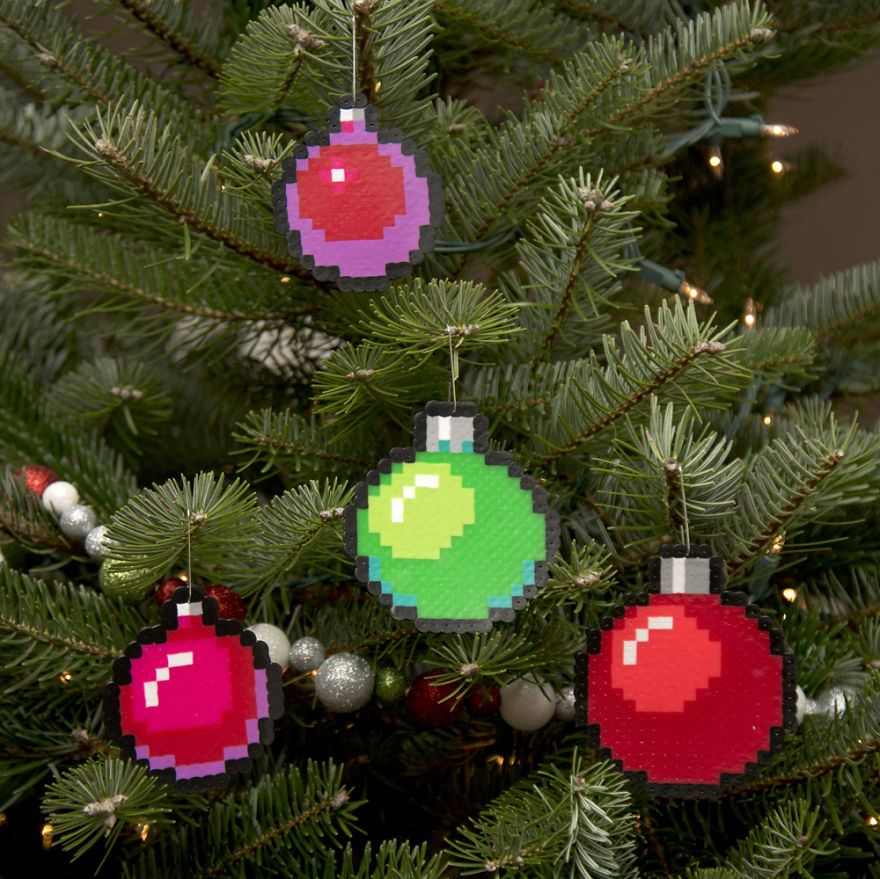 Hang 8 Bit ornaments from Zazzle on your tree this holiday season. Start a new holiday tradition with thousands of festive designs to choose from.
