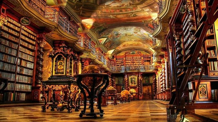 The World's Most Spectacular Libraries.