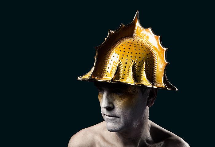 Ceramic Helmet.