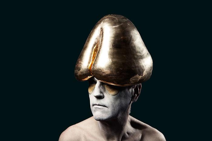 Ceramic Penis Hat.