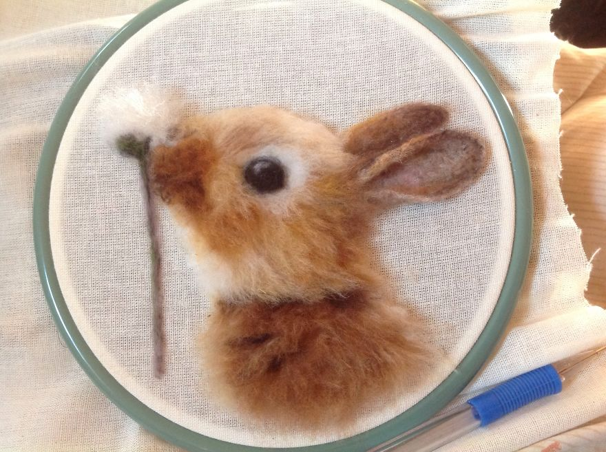 My Cute Needle Felted Animals