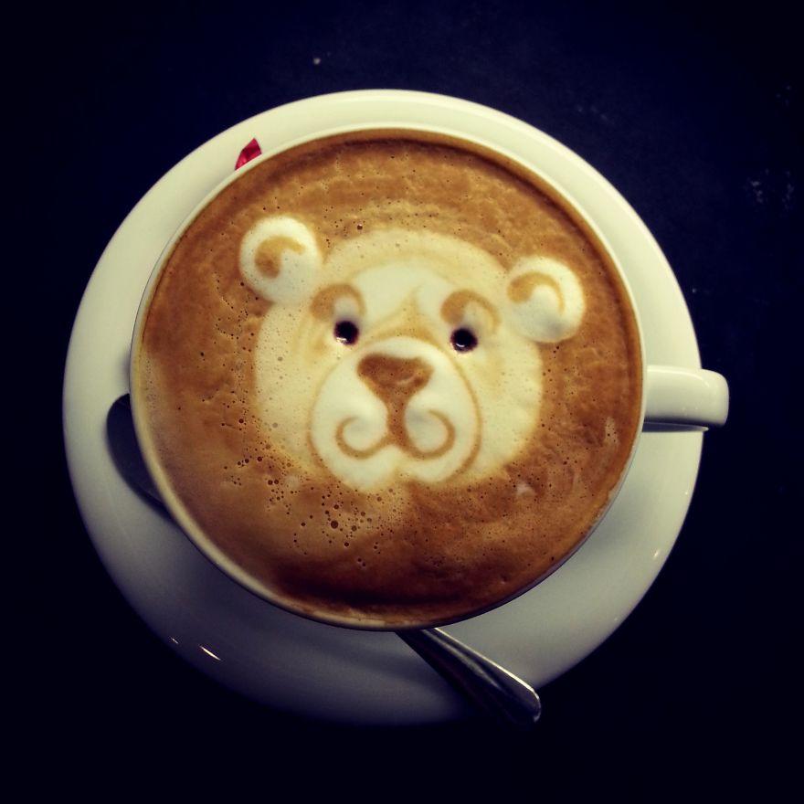 My Latte Art | Bored Panda | 880 x 880 jpeg 66kB