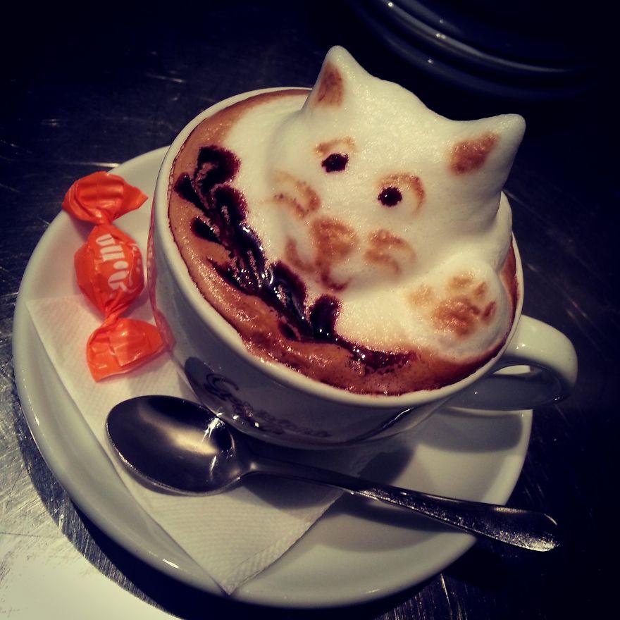 Bored Panda: My Latte Art
