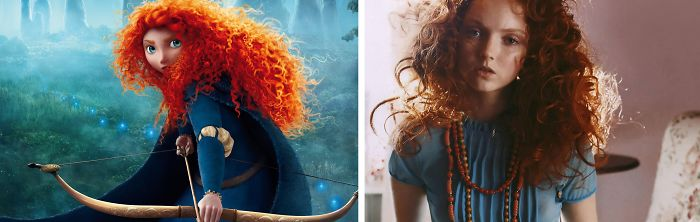 Princess Merida Looks Like Lily Cole
