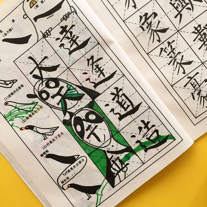 How To Draw Chinese Characters – The Wrong Way