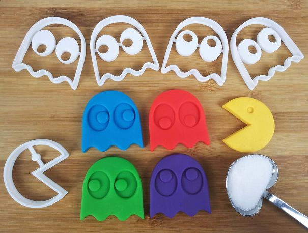 Pac-man Cookie Cutters!