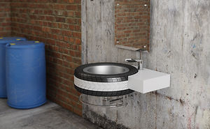 Mac Wheel Wash Basin For Bathrooms & Garage