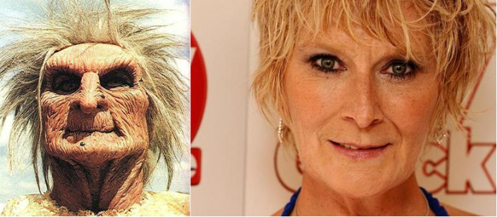 Zelda (terrahawks) And Linda Henry (shirley Carter - Eastenders)