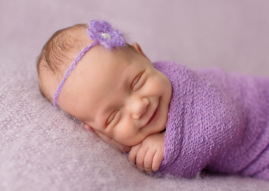 Smiling Babies: I Learned To Catch The Smiles Of Sleeping