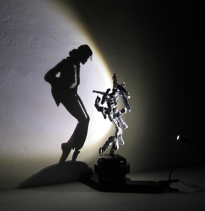 Sculptures By Shadow-art Pioneer Diet Wiegman