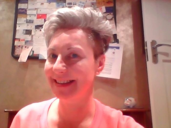 My Grey Hair Is Natural!!