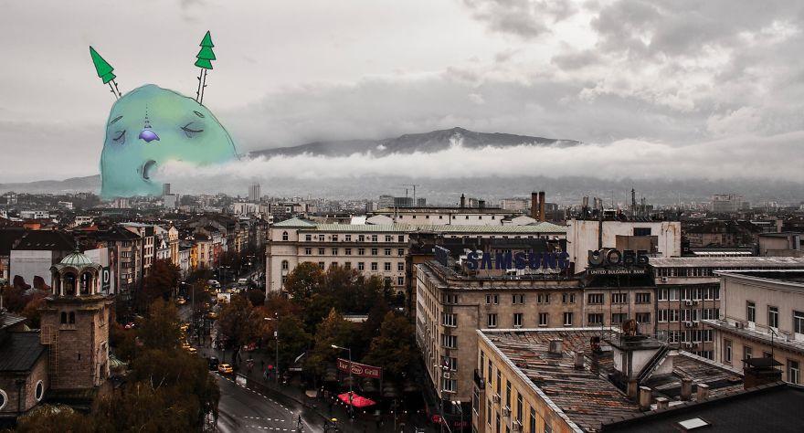 София: ленивые монстры в болгарской столице