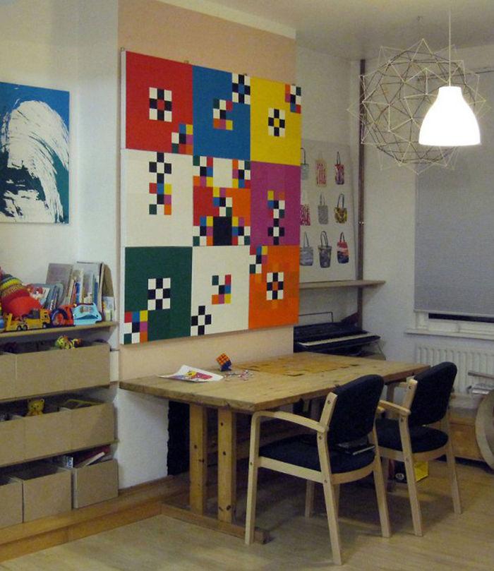 Nine Squares By R Brian Marsh, Designhansa