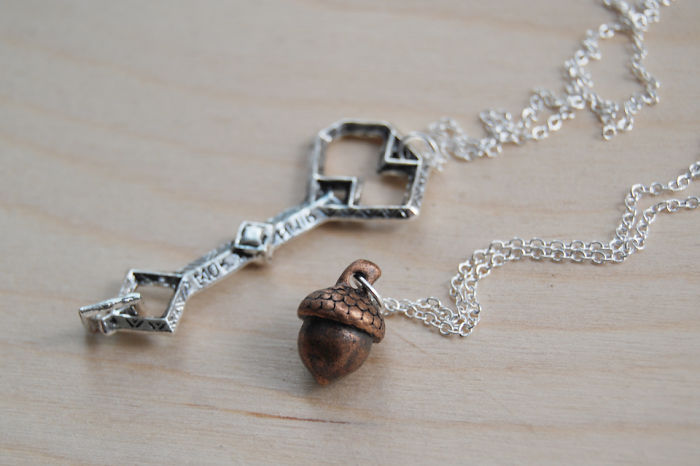 Thorin And Bilbo Bff Necklaces