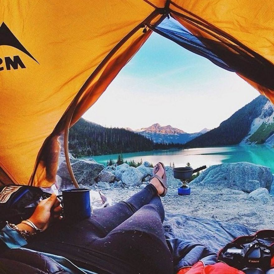 Joffre Lakes Canada & Top 20 Photos Of Landscapes Taken From The Tent Exotic Camping ...