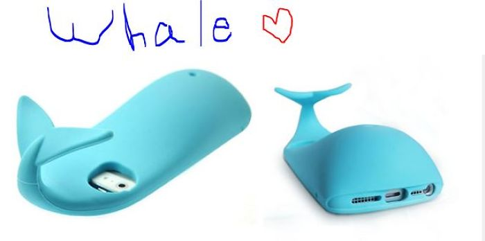 Random Whale Phone Case But, Save Da Whales!!!!