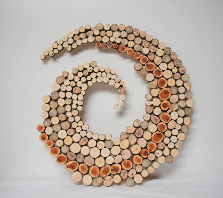 Wild slice designs i make wall sculptures from reclaimed