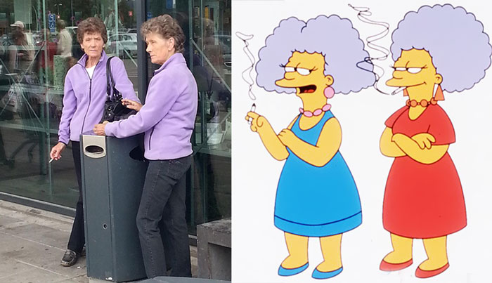 Real Life Patty And Selma