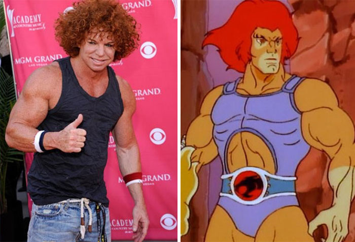 Carrot Top Looks Like Lion-o From Thunder Cats