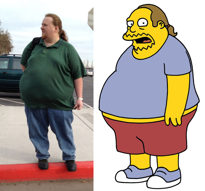 Real Life Comic Book Guy