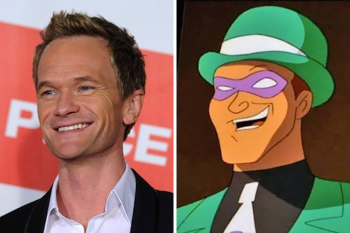 Neil Patrick Harris Looks Like The Riddler