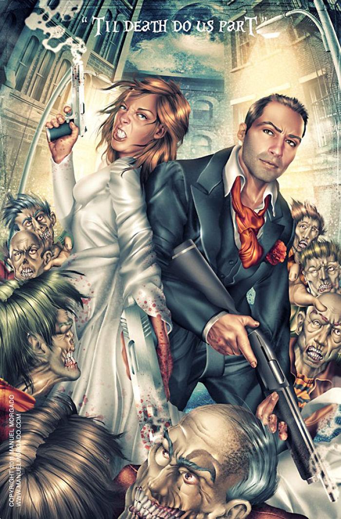 A Zombie Apocalypse Engagement Announcement