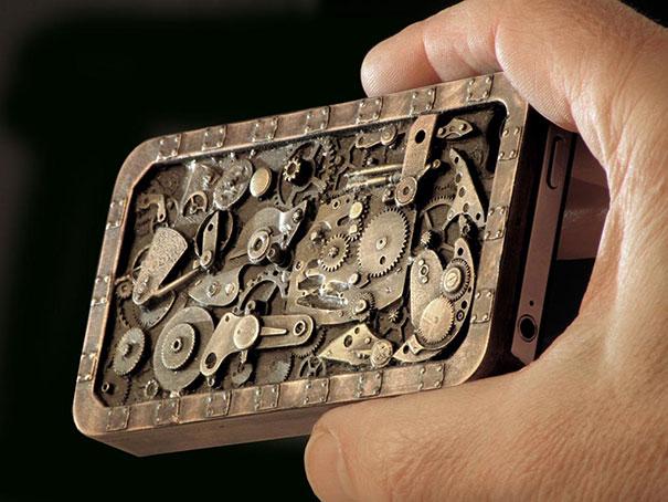 Steampunk Phone Case