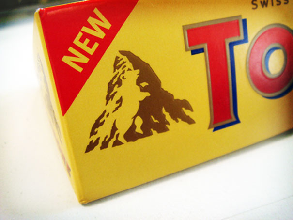Cannot Unsee. Hidden Bear In The Toblerone Symbol