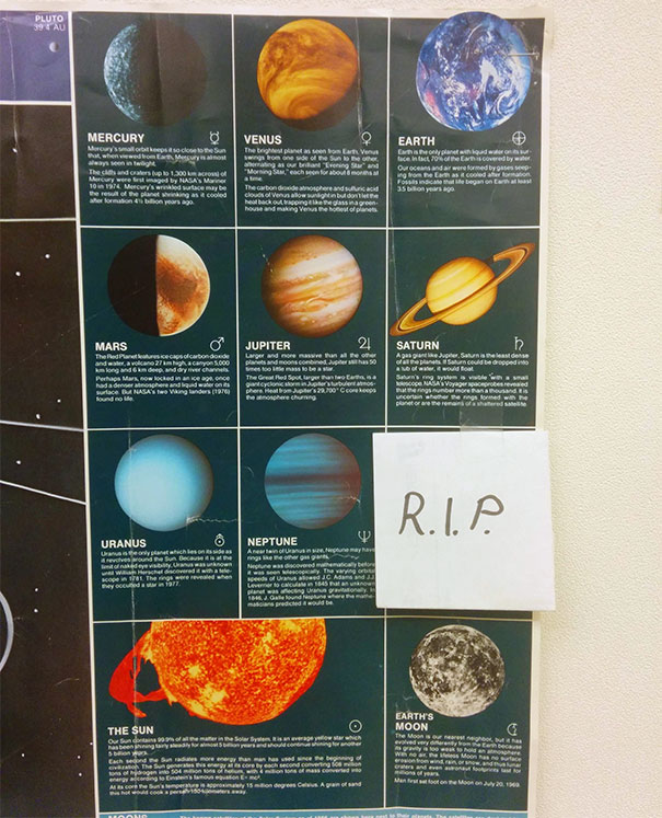 Science Teacher Hung This In His Classroom