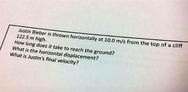 Awesome Physics Assignment