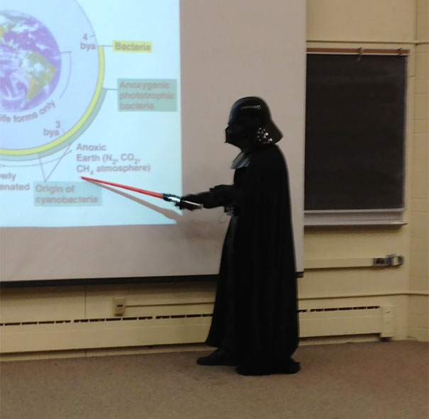 Microbiology Professor Teaches An Entire Lecture Like This