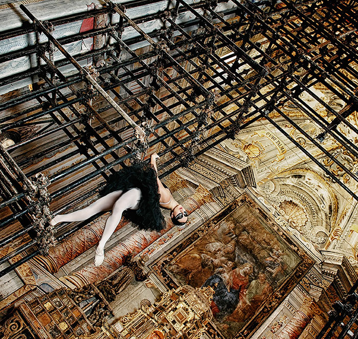 My Dance Project Inside An Old Church Inspired By A Black Swan