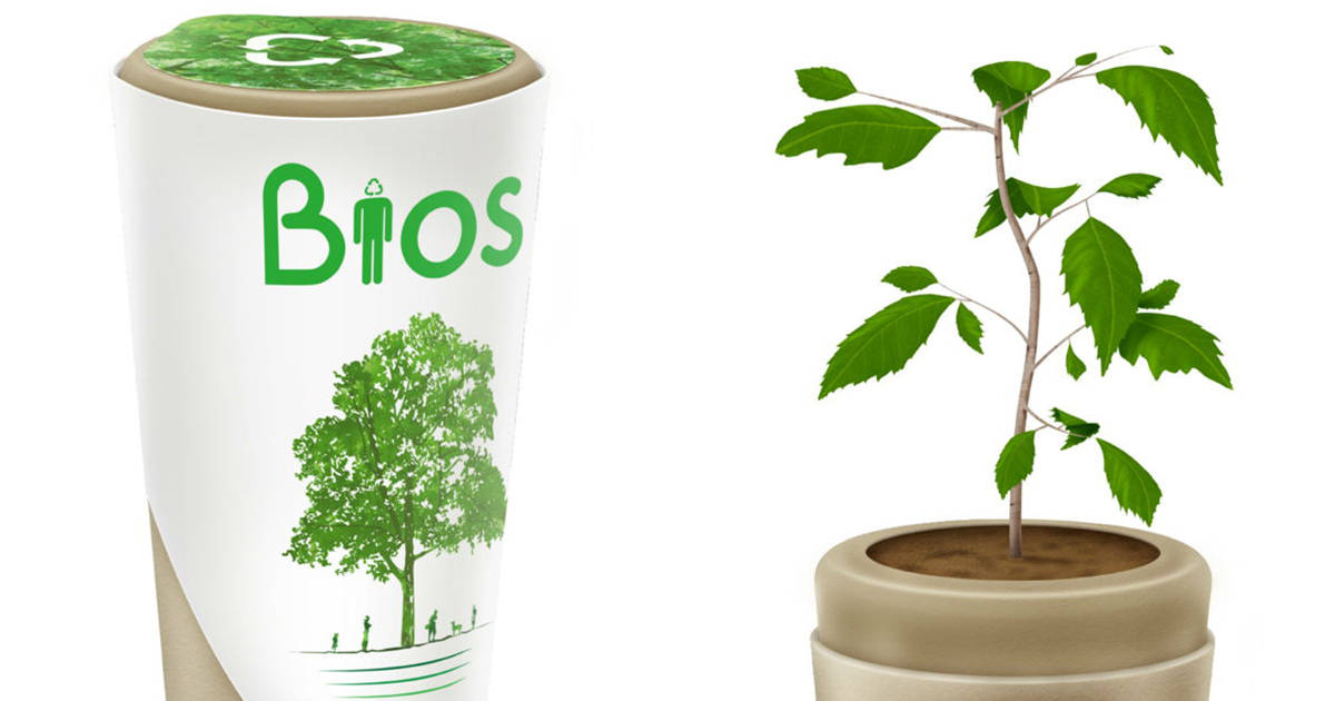 bios urn will turn you into a tree after you die bored panda. Black Bedroom Furniture Sets. Home Design Ideas