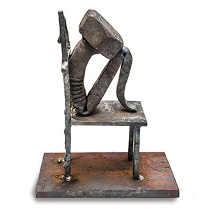 Bolt Poetry: Blacksmith Gives Emotion To Steel By Bending It Into Human Shapes