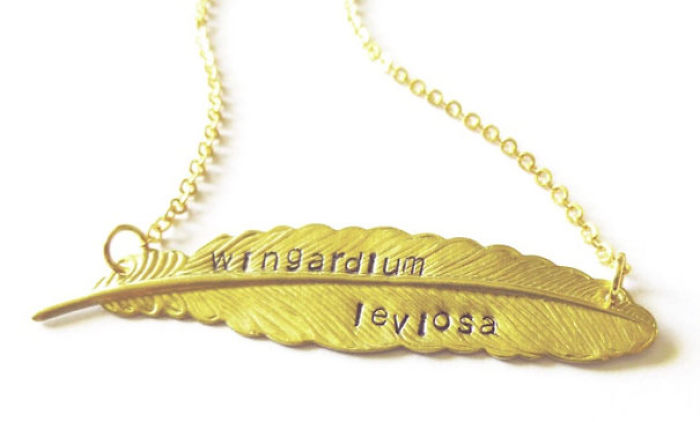 Harry Potter Spell Necklace