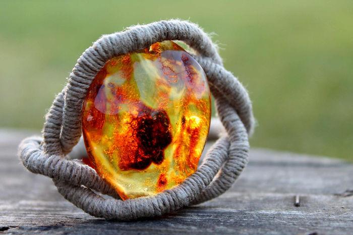 The Eye Of Sauron Amber Bracelet