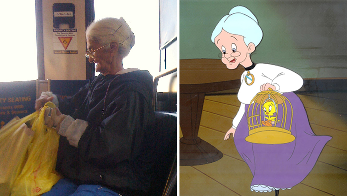 Real prototypes of famous cartoon characters