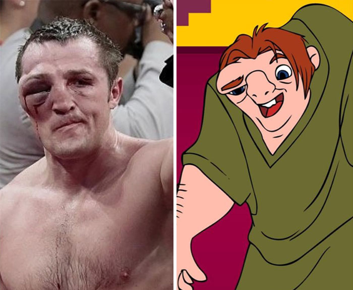Boxer Looks Like The Hunchback Of Notre Dame