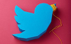 'Censored' Social Media Logos Made Of Paper