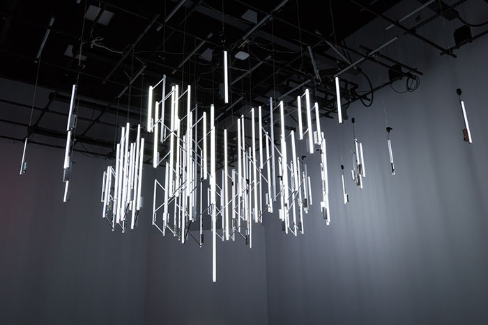 I Built A Chandelier Which Flashes When It Detects Radioactive Particles
