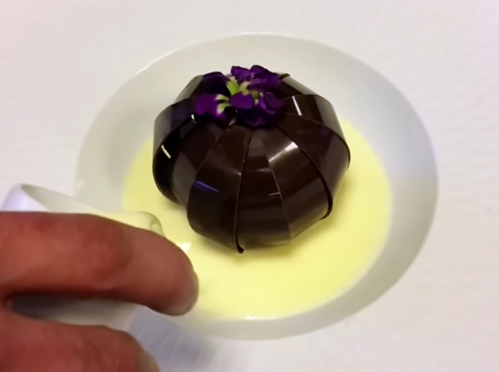 Unbelievable Chocolate Dessert That Blooms Like A Flower