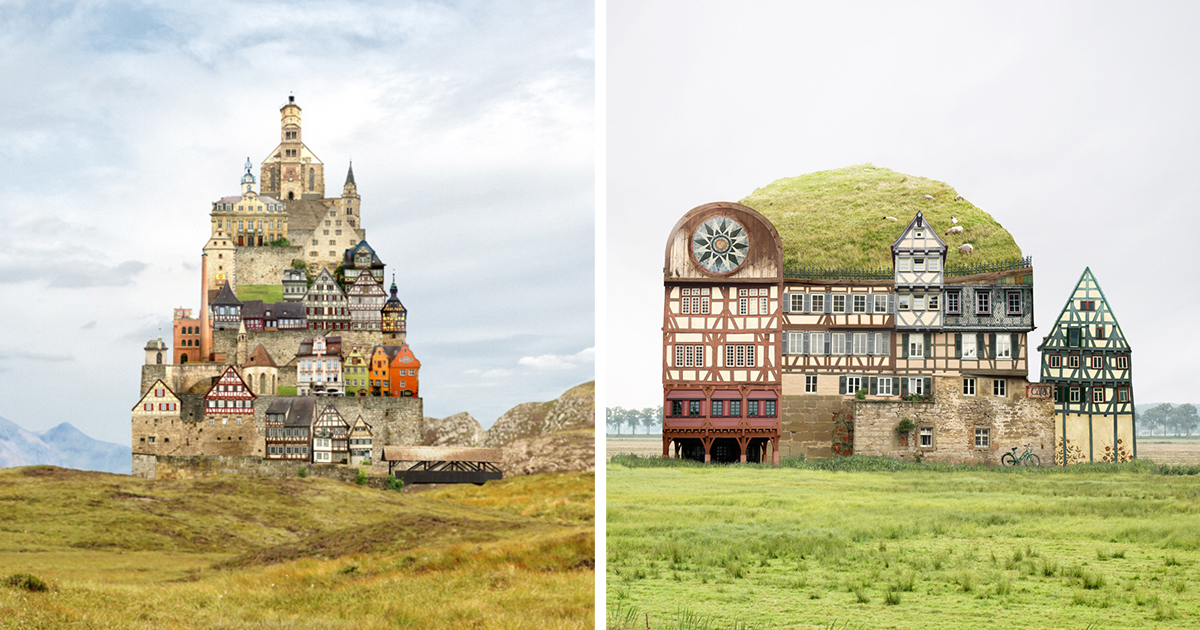 Surreal Buildings Inspired By German Architecture Bored