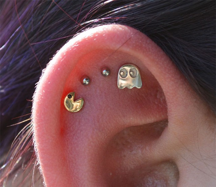 Pacman Ear Pieces