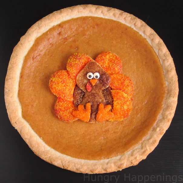 Pumpkin Pie For Thanksgiving