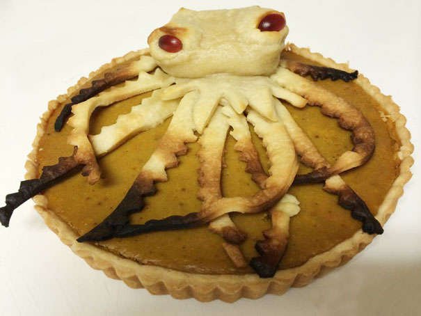 Angry Octopus Pie